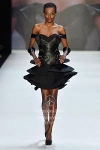 Mercedes Benz Fashion Week_02.07. 2013_MUYOMBANO Jewelry_PURE A1 bracelet long Stainless steel black_ROMERO BRYAN SS14 12